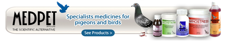 Medpet pigeons products