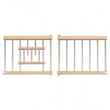 Puerta-Frontal, de madera contrachapada y barrotes de aluminio, para jaulas y nidales