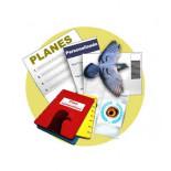 Planes personalizados para competición, muda y reproducción