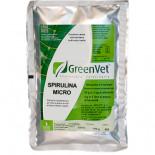 GreenVet Spirulina Micro 100gr, (para la coloración del plumaje)