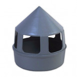 Pigeon supplies and accessories: Black grit feeder