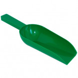 Pigeon supplies and accessories: Plastic feed scoop 0.2kg of capacity.