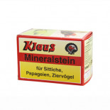 Pigeons Produts and Supplies: Klaus Mineralstein 470gr, (picking block of minerals enriched with calcium and phosphorus). For birds