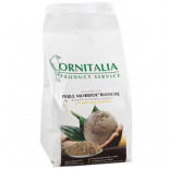 Ornitalia Perle Morbide Bianche 9kg, (a new concept in Bird Food. They prevent the well-known germination risks)