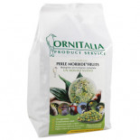 Ornitalia Perle Morbide Fruits Verdi 4kg, (a new concept in Bird Food. They prevent the well-known germination risks)