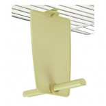 STA Perch Vertical Rada, with dividing wall and upper hook (colour beige)