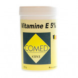 products and supplements for birds: Comed Vitamine E 5%, (vitamin E powder). For birds