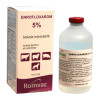 Enrofloxarom 5% 100ml, (Injec. Enrofloxacine), (Broad spectrum treatment). Pigeons & Birds
