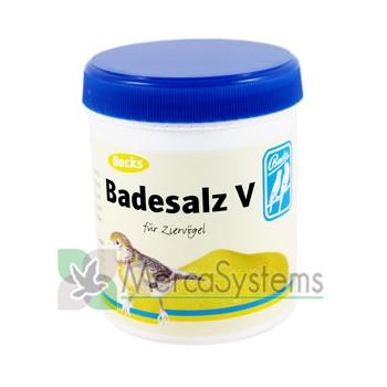 Backs Badesalz V 300gr, ((cuidados e desinfecção de plumagem)
