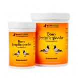 Productos para palomas: Bony Jongdierpoeder 200 gr, (a base de proteínas de calostro de cordero enriquecido). Para palomas