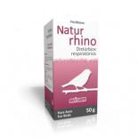 Avizoon Natur Rhino 50 gr, (produto 100% natural que previne problemas respiratórios). Pássaros