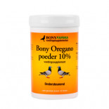 loja online de productos para pombos e para Columbofilia: Bony Pó Orégano 10 %  200gr, (rico em energia)
