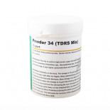 Loja online de productos para pombos e para Columbofilia: Powder 34 (TDRS Mix) 100 gr, (para casos GRAVES de infecções respiratórias e tricomoníase resistentes)