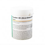 Pigeons Produts and Supplies: Powder 40 (Orni-Omni-R Mix) 100 gr, (against very severe respiratory and intestinal infections)