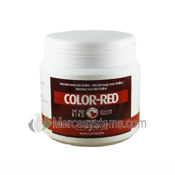 Productos para pájaros: The Red Pigeon Color Red 300gr, (colorante rojo intenso de alta calidad). Para pájaros