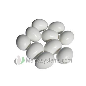 Huevo falso de plástico para gallinas grandes