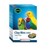 Versele Laga Orlux Mini Bloque arcilloso 540g para canarios, periquitos pequeños, pájaros exóticos y autóctonos.