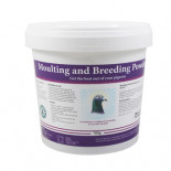 Nuevo Pigeon Moulting and Breeding powder 700 gr, (vitaminas para la muda y cría)