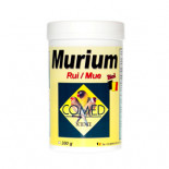 Tienda de medicamentos, vitaminas para canarios, pájaros exóticos: Murium 70 gr de Comed (preparado para la muda)