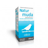Avizoon Natur Muda 100 ml, (para una muda perfecta). Pájaros de jaula