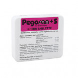 Pego-Calcanit Pegosan 50 tablets, (triple action in a single product)