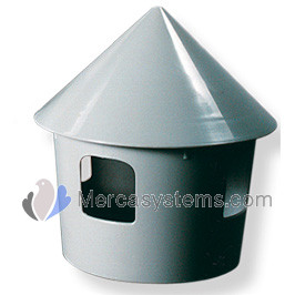 Pigeon supplies and accessories: Drinker - Feeder 2 Litre (belgian style) . For pigeons