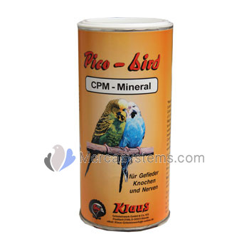 Klaus Pico-Bird CPM-Mineral 400g (strengthens bones and improves plumage). For birds