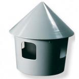 Accesorios para palomas: Bebedero - Comedero de plástico (modelo belga), de 1 litro de capacidad