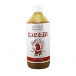 The Red Pigeon Metabolyt 500 ml, (un composé de culture de levure qui met une couche de protection sur le système digestif)