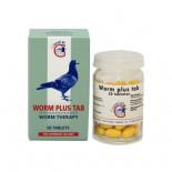 Giantel Worm Plus Tab, (estomac, les vers intestinaux et les vers plats). Des pigeons voyageurs