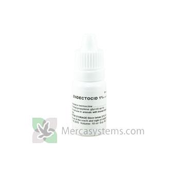 Endectocid (Ivermectin) 1% 10ml, (Trattamento di nematodi e ectoparassita, soprattutto piuma acaro infestazione di piccioni viaggiatori). Per i Piccioni.