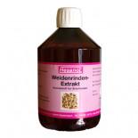 Hesanol Weidenrinden-Extrakt 500 ml, (corteccia di salice tè). Per Piccioni.
