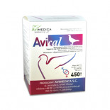 AviMedica AviCal 450 gr (verrijkt mineralen die de kwaliteit van de eieren te verbeteren)