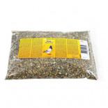 Bony Muitzaad, (selectie van zaden en kruiden om rui van donzen stimuleren)