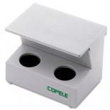 Binnenvoeder-Hopper 2 compartimenten voor duiven, Copele.