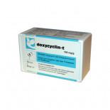 Chevita Doxycyclin-T 100 capsules (doxycycline). Voor Duiven en Vogels.