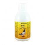 Bony Omega Flight Oil 2.0 250 ml, (mengsel van hoogwaardige oliën, speciaal voor wedstrijden)