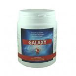 The Red Pigeon Galaxy 300 gr, een poeder samengesteld uit verschillende etherische oliën, op basis van groene klei.