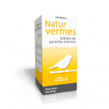 Avizoon Natur Vermes 20 capsules, (100% natuurlijk product dat de meeste van darmparasieten verwijdert bij siervogels)