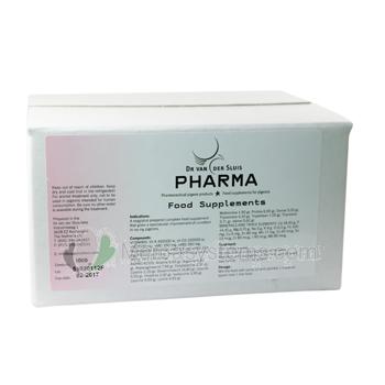 Pharma (Dr. Van Der Sluis) Food Supplements, spektakuläre Ergänzung der neuesten Generation.