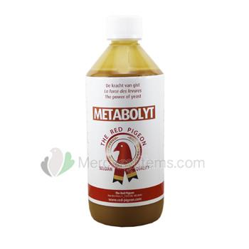 The Red Pigeon Metabolyt 500 ml, (eine Verbindung der Hefekultur und Hefezellschalen)