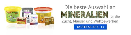 Mineralien für Tauben