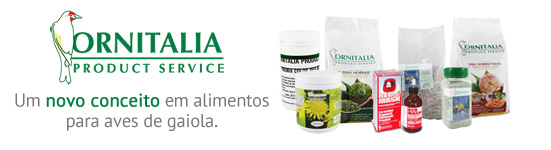 produtos Ornitalia pássaros