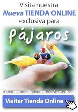 tienda online de tratamientos, productos y accesorios para canarios y pajaros