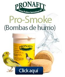 Pronafit, bombas de humo