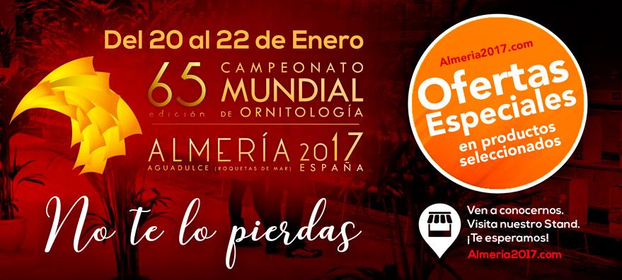 Mundial de ornitología Almaría 2017