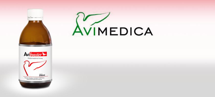Avimedica avibooster for racing pigeons