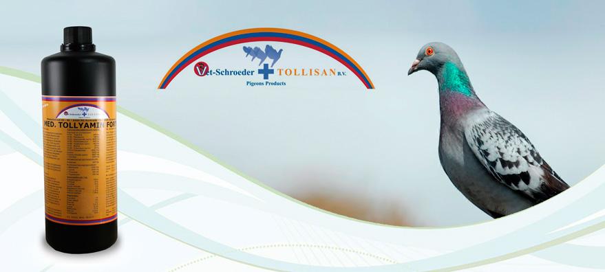 Tollisan Tollyamin forte para palomas